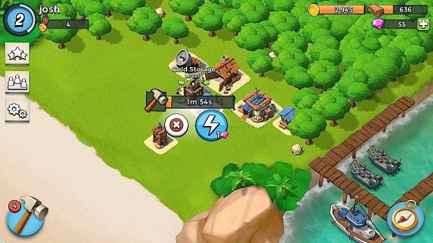 boom beach defense strategy