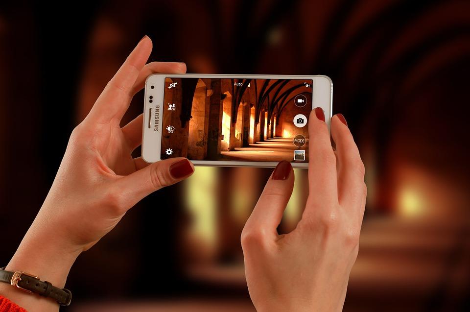 smartphone web camera