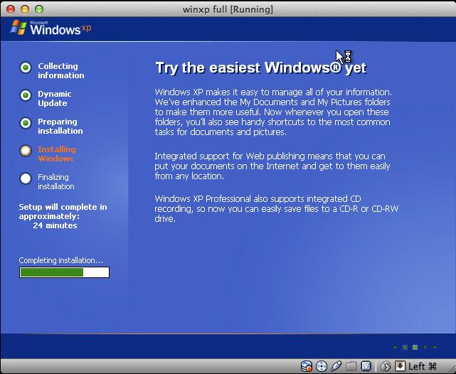install windows xp to usb drive