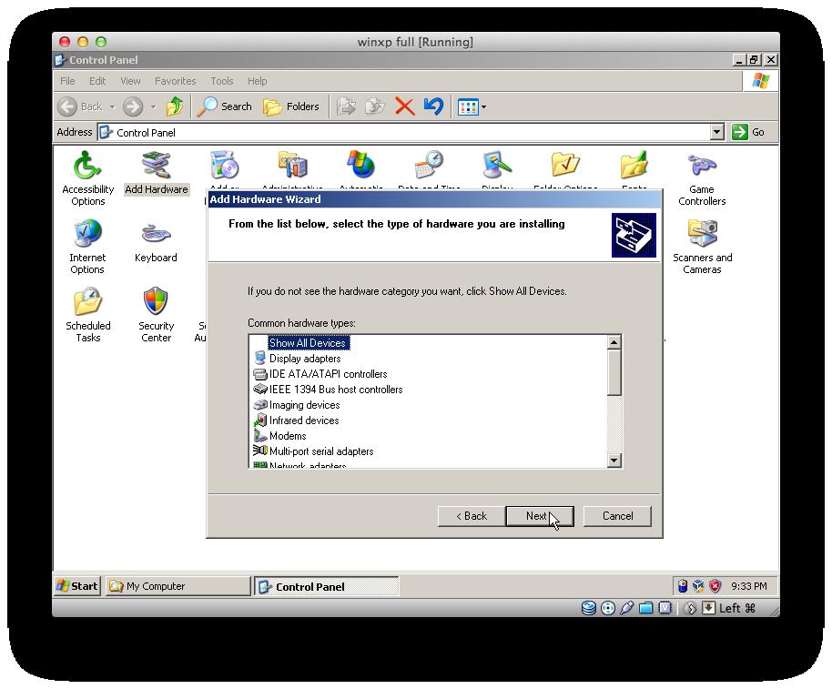 install windows xp on usb